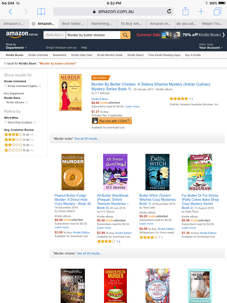 On top of amazon sales rankings 30 days from launch butterchickenbestsellerau malvernweather Gallery