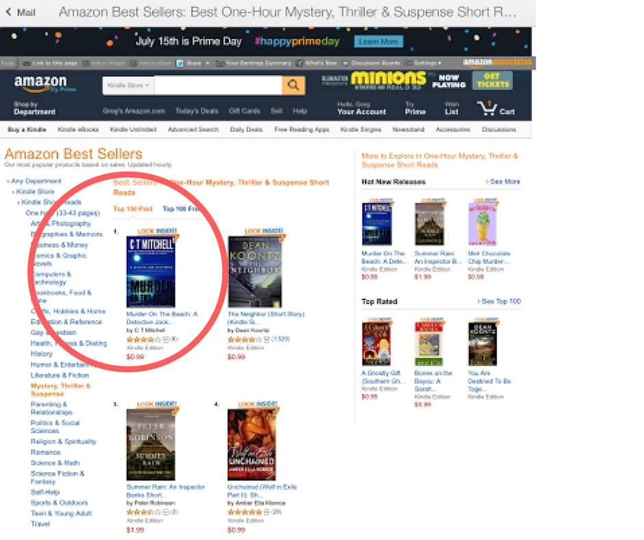 On top of amazon sales rankings 30 days from launch hitting the top of amazon sales rankings 30 days from launch malvernweather Gallery